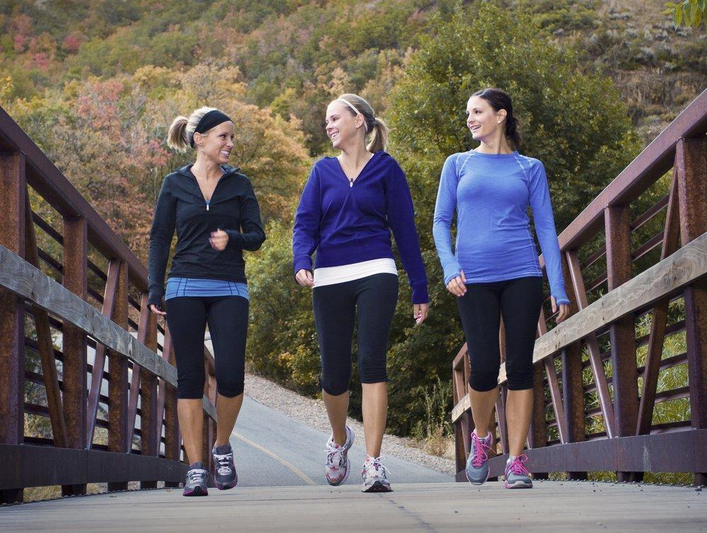 Техника ходьбы для борьбы с лишним весом