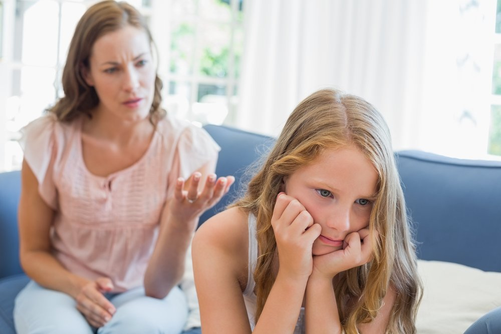 Ребенок должен терпеть и молчать