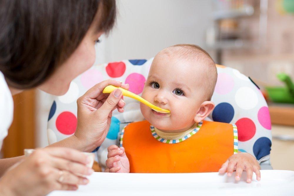 Нежное питание ребенка