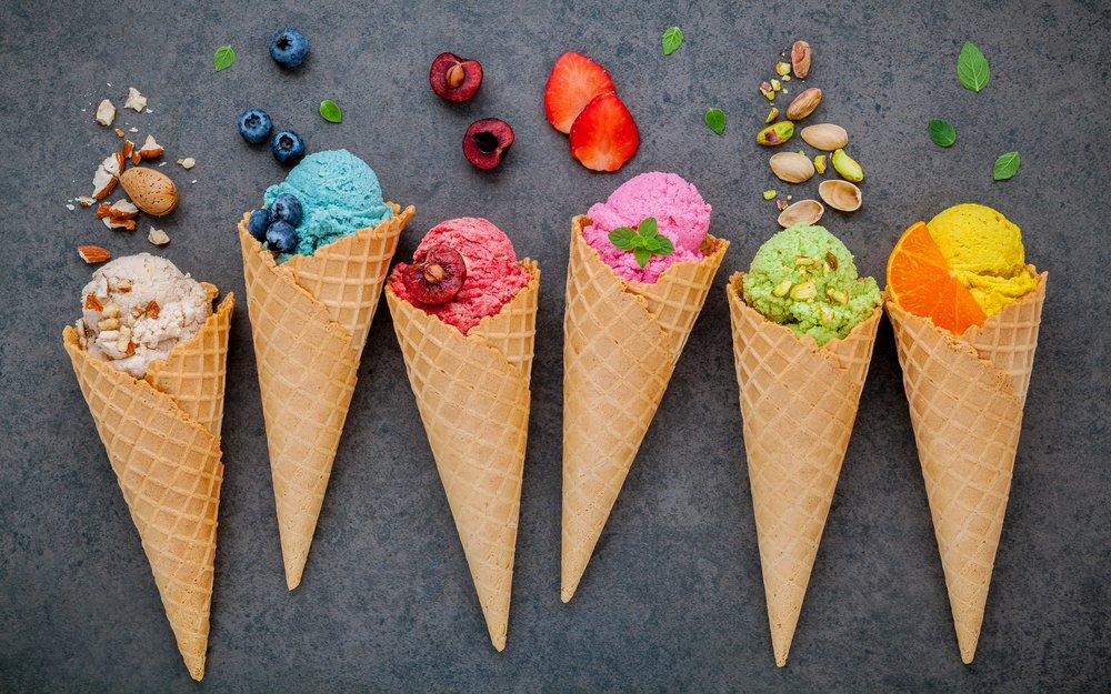 16. Мороженое