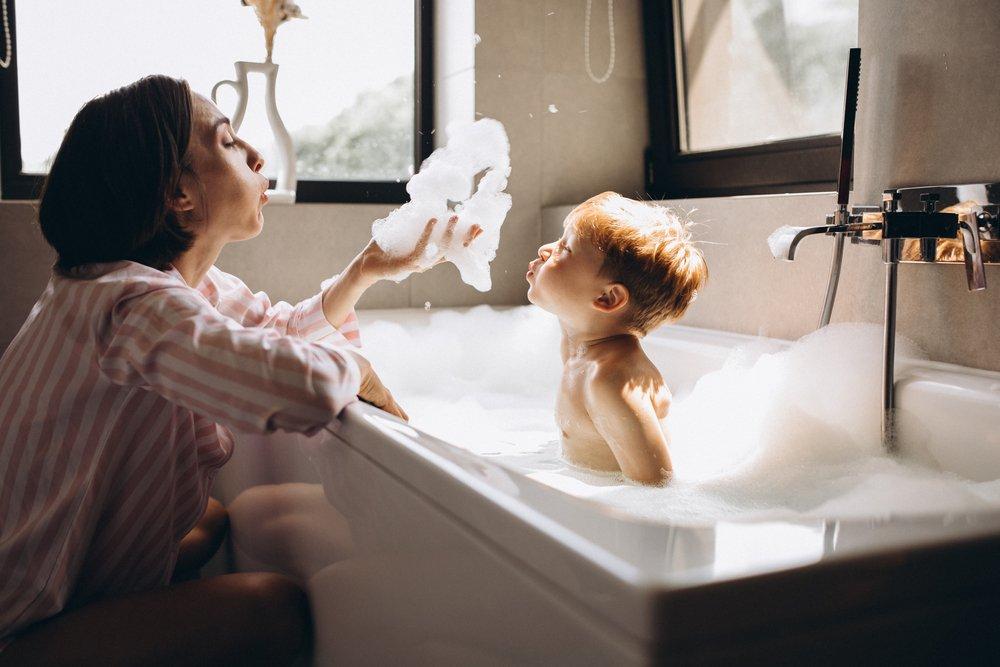 2 правило: безопасность в самой ванной