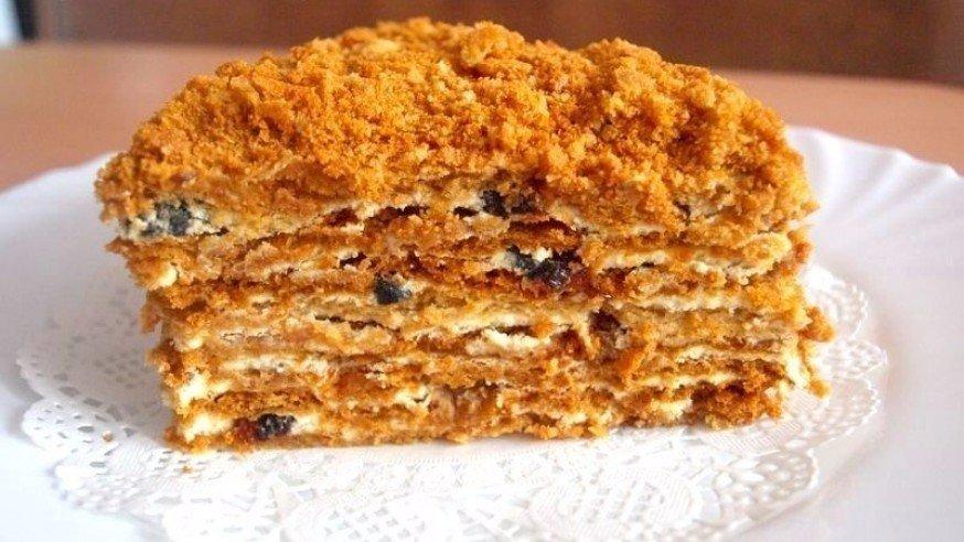 Постный торт «Медовик» Источник: mycdn.me
