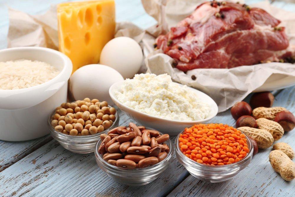 Растительное белковая диета