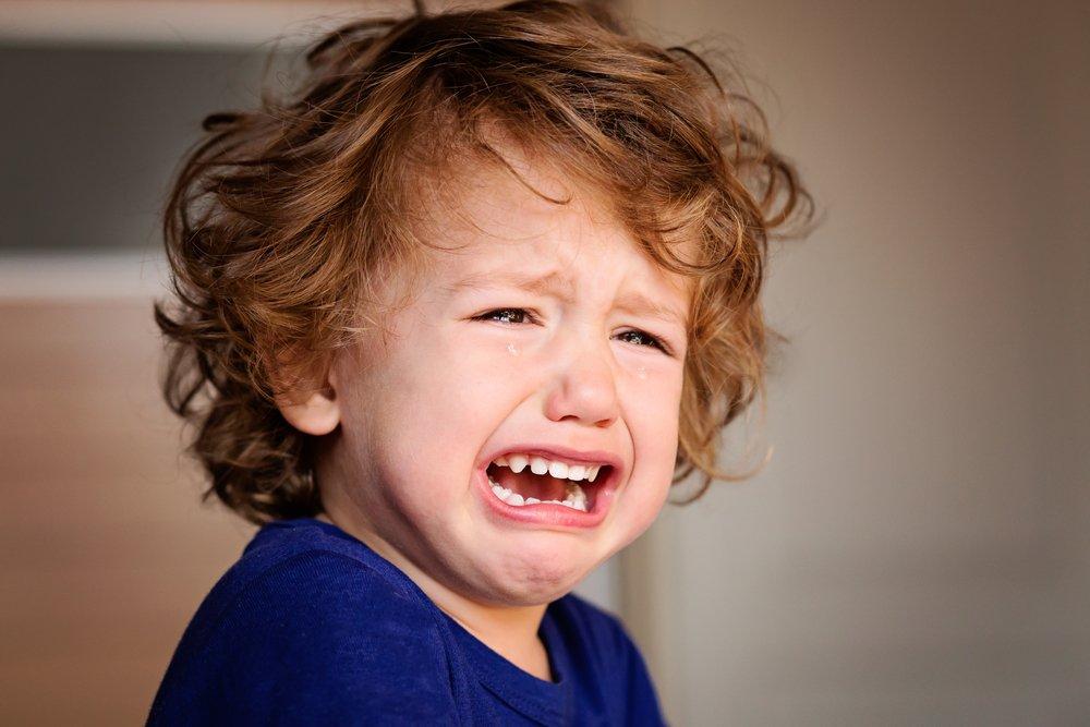 Причины истерик в разном возрасте детей