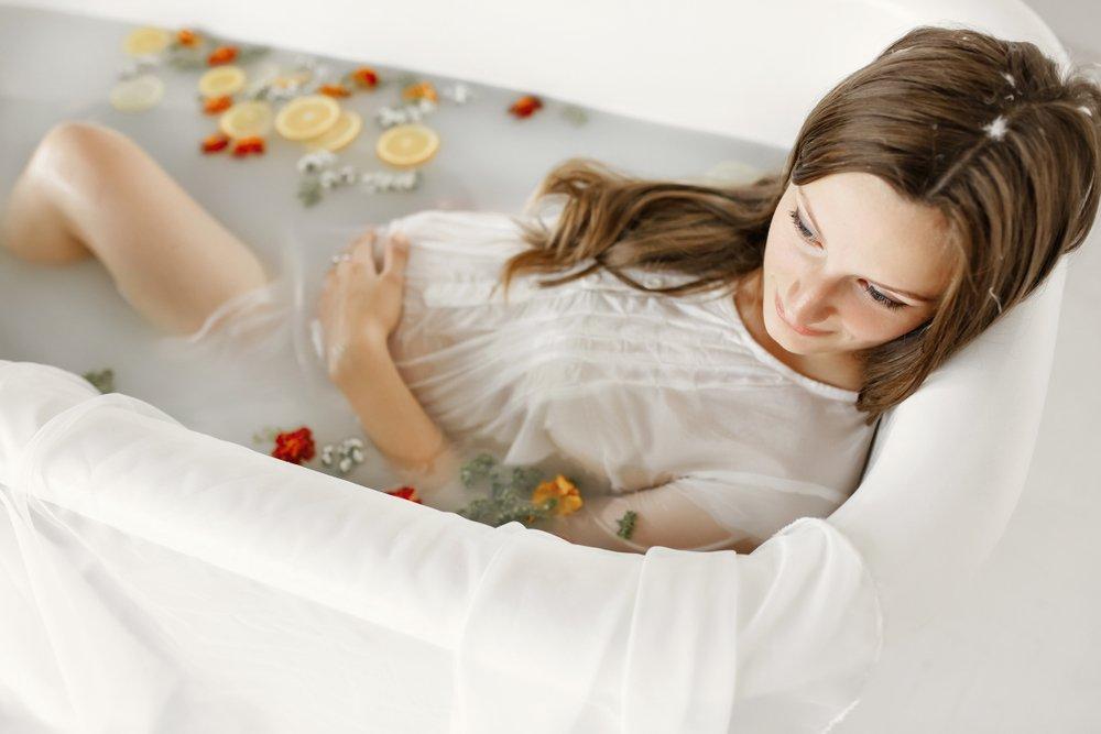 Горячие ванны и сауна для будущей матери
