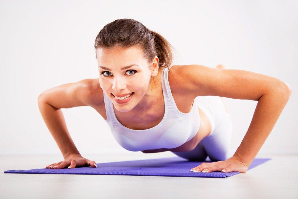 Упражнения с собственным весом: отжимания