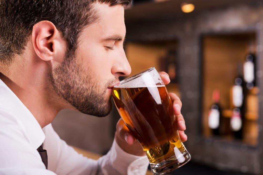 Суть привычки пить пиво