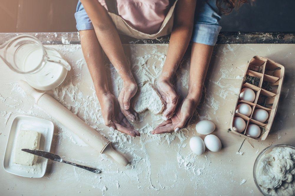 Как приготовить классический шифоновый бисквит?