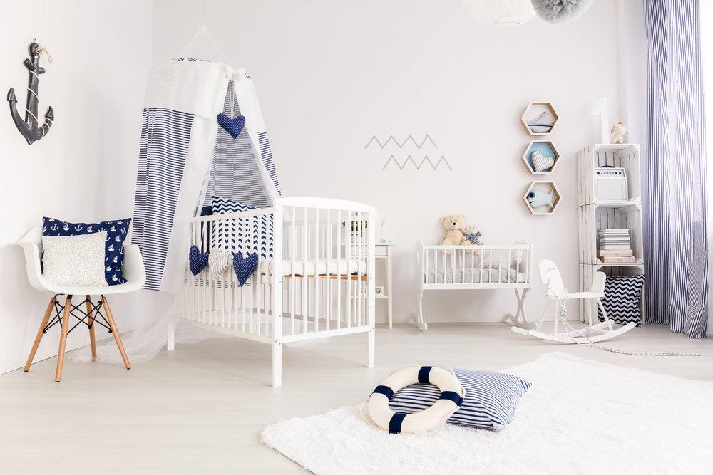 Текстильный карман для кроватки новорожденного малыша