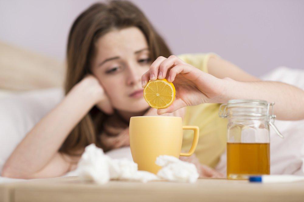 Народные средства от простуды
