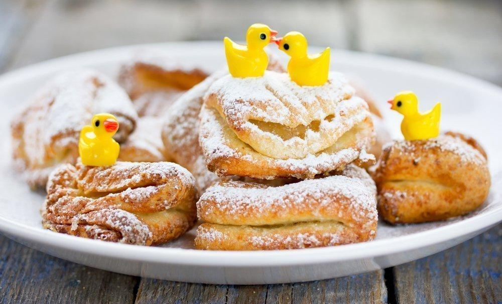 Творожное печенье для малышей