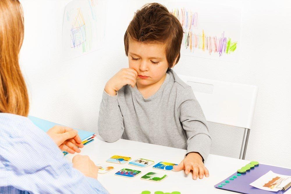 Почему у ребенка общее недоразвитие речи?