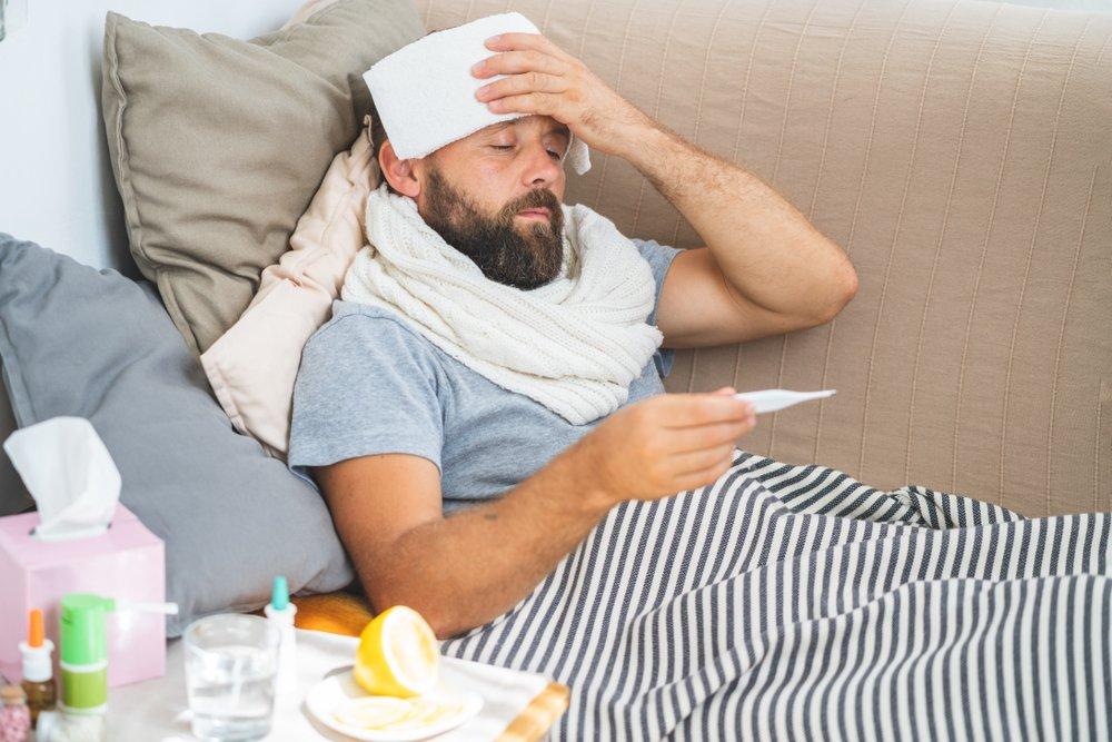Причины фебрильной лихорадки