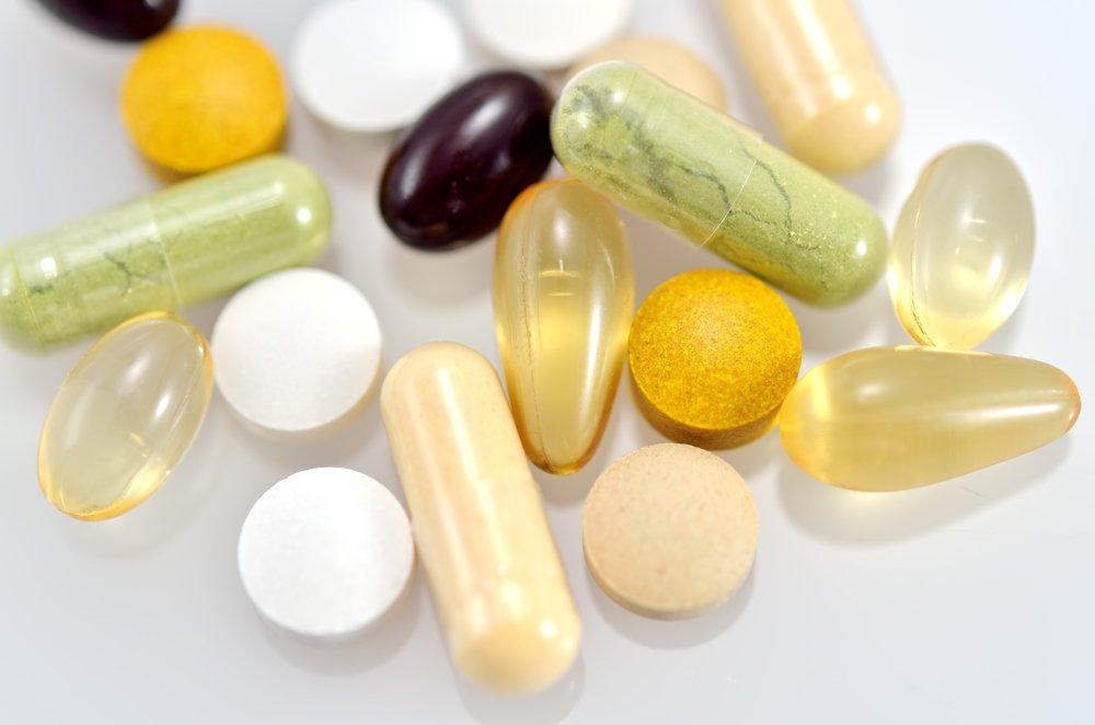 Внешний вид БАД-препаратов