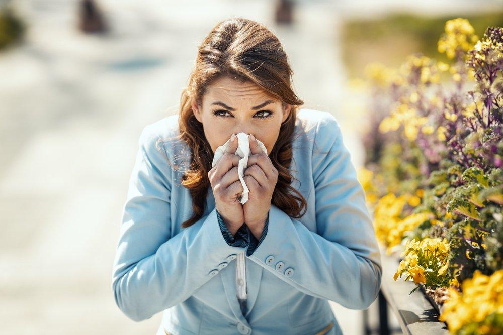 Контролировать аллергию