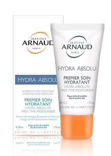 Дневной крем Hydra Absolu Premier Soin для сухой и чувствительной кожи Arnaud Источник: arnaud-institut.com