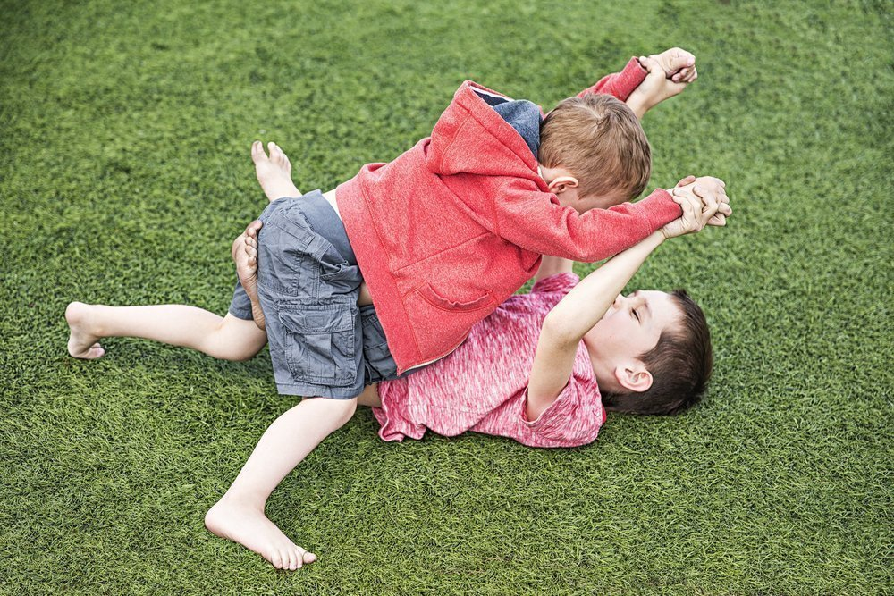 Почему дети проявляют агрессию?