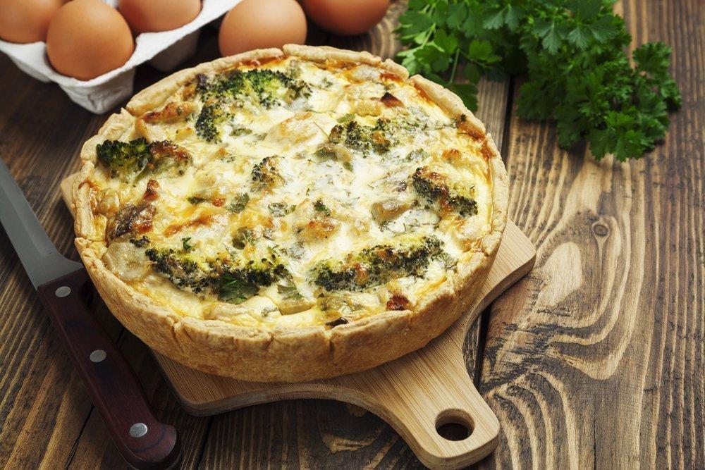 Вкусное и полезное питание: пирог с брокколи