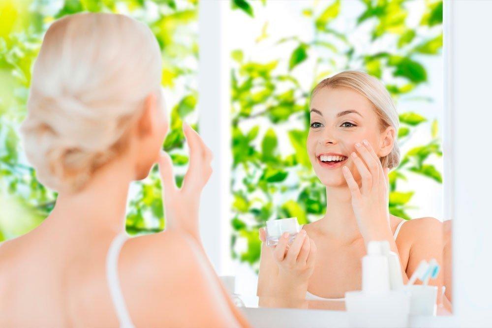 Как ухаживать за красотой лица, если кожа сильно потеет