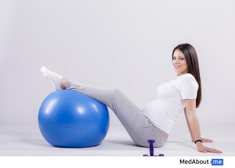 Лечебная физкультура: упражнения для беременных