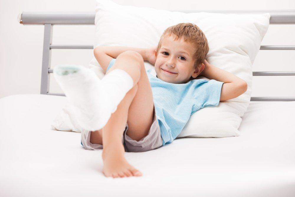 Переломы костей у детей