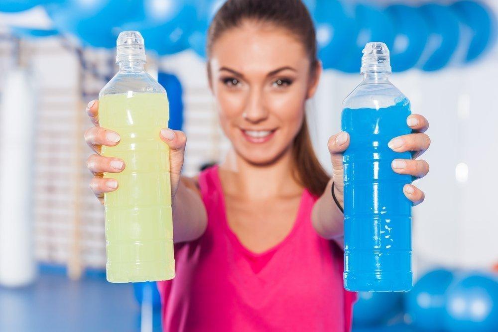 6. Энергетические напитки для спортивного питания