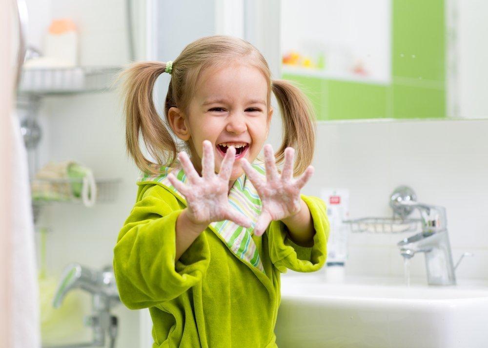 Чистый ребенок картинка