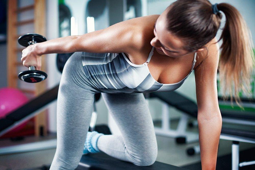 Основные фитнес-упражнения на трицепс
