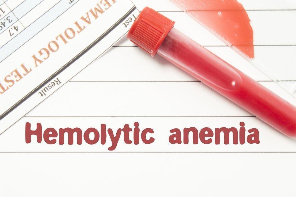 Как выглядит гемолитическая анемия?