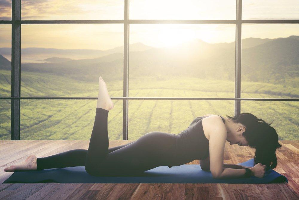Комплекс упражнений для ног в домашних условиях
