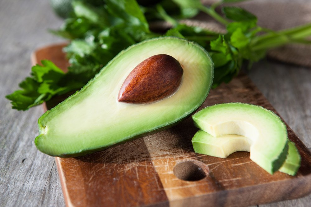 Используйте авокадо