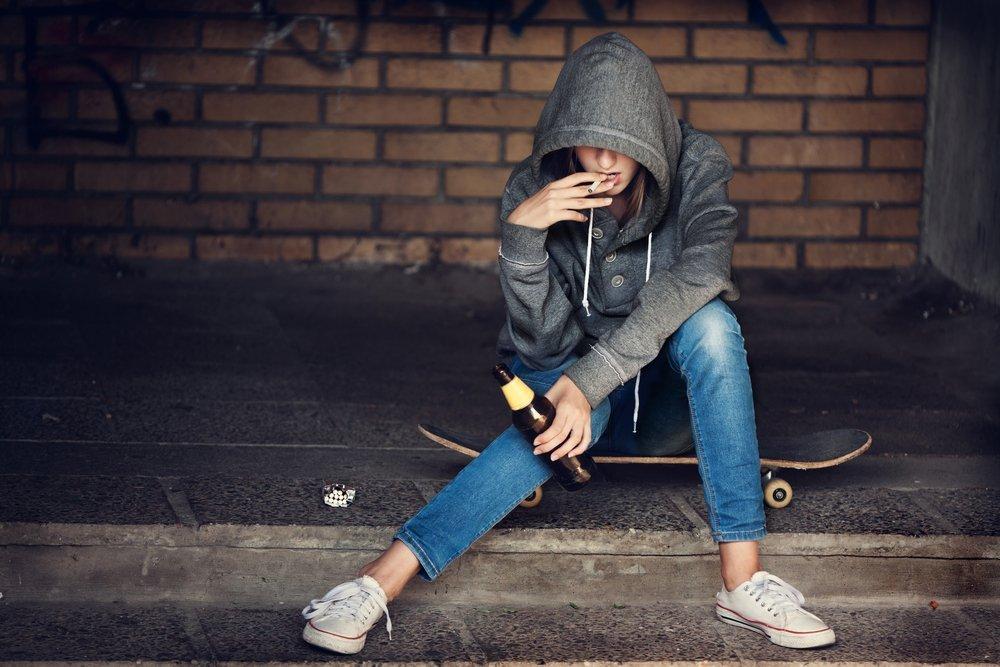 Алкоголизм у детей и подростков
