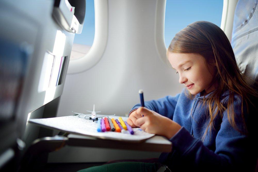 Авиаперелет с детьми: основная информация