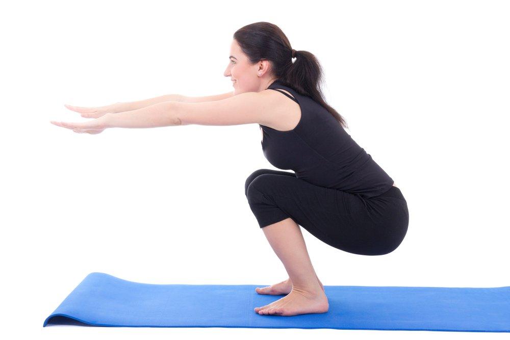 Домашние упражнения для нижней части тела