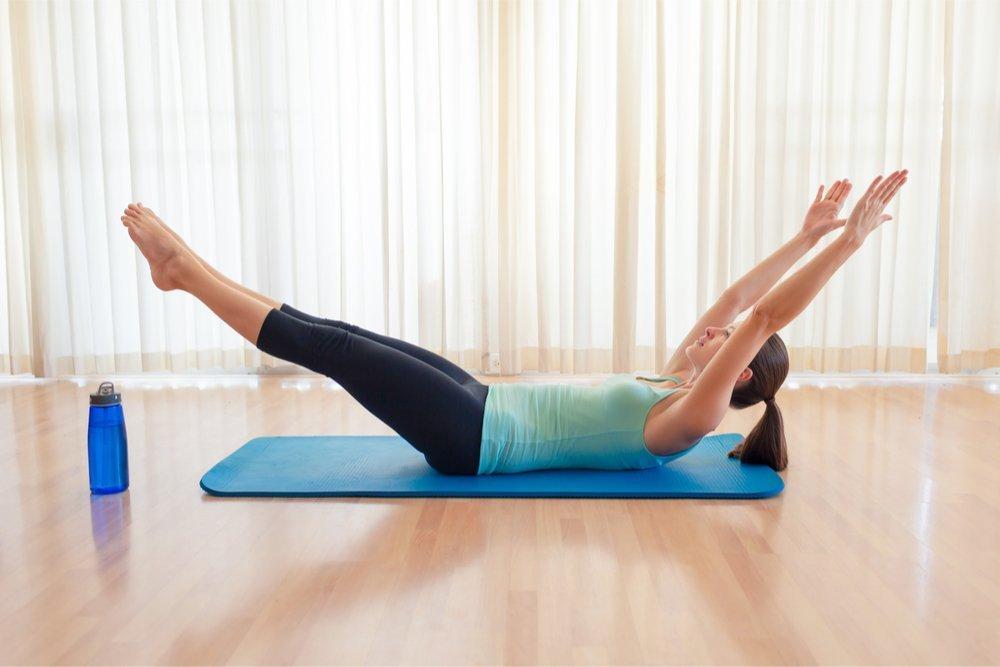 Упражнения для сжигания жира на боках