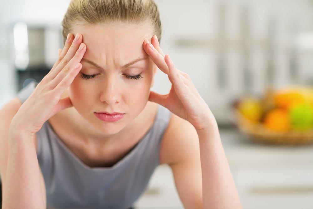 Боли при мигрени