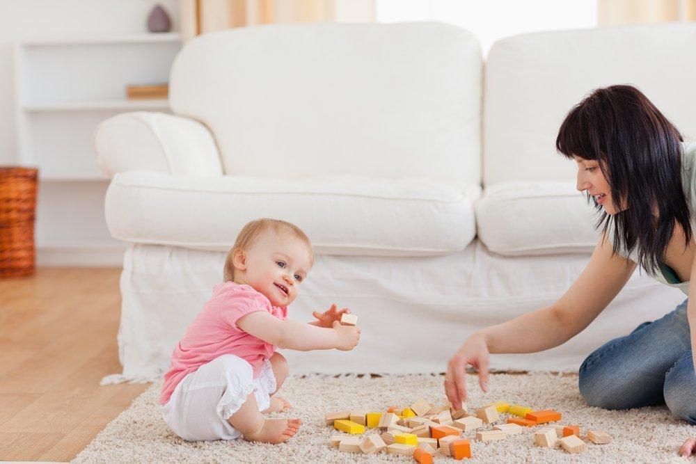 Занятия с малышами по развитию моторики и слухового восприятия