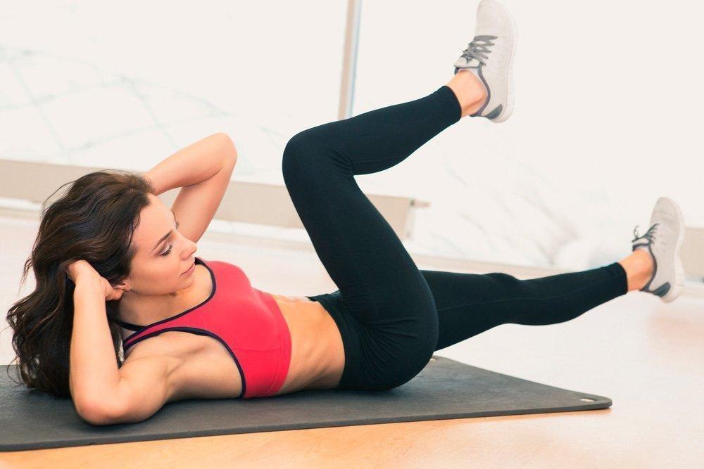 Почему скручивания считаются лучшим упражнением для живота
