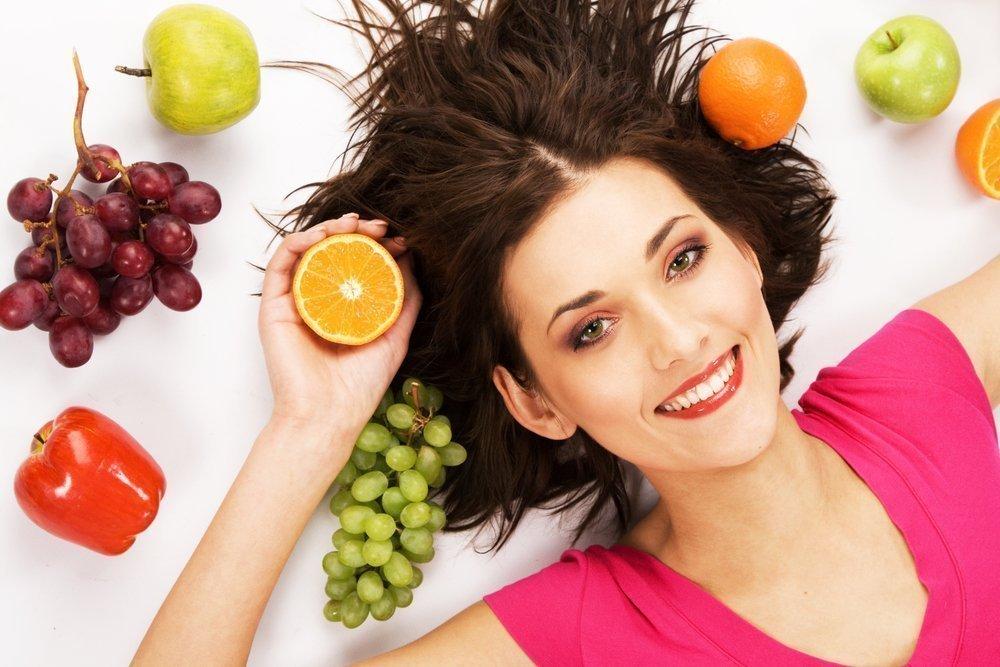 Здоровое питание для восстановления волос