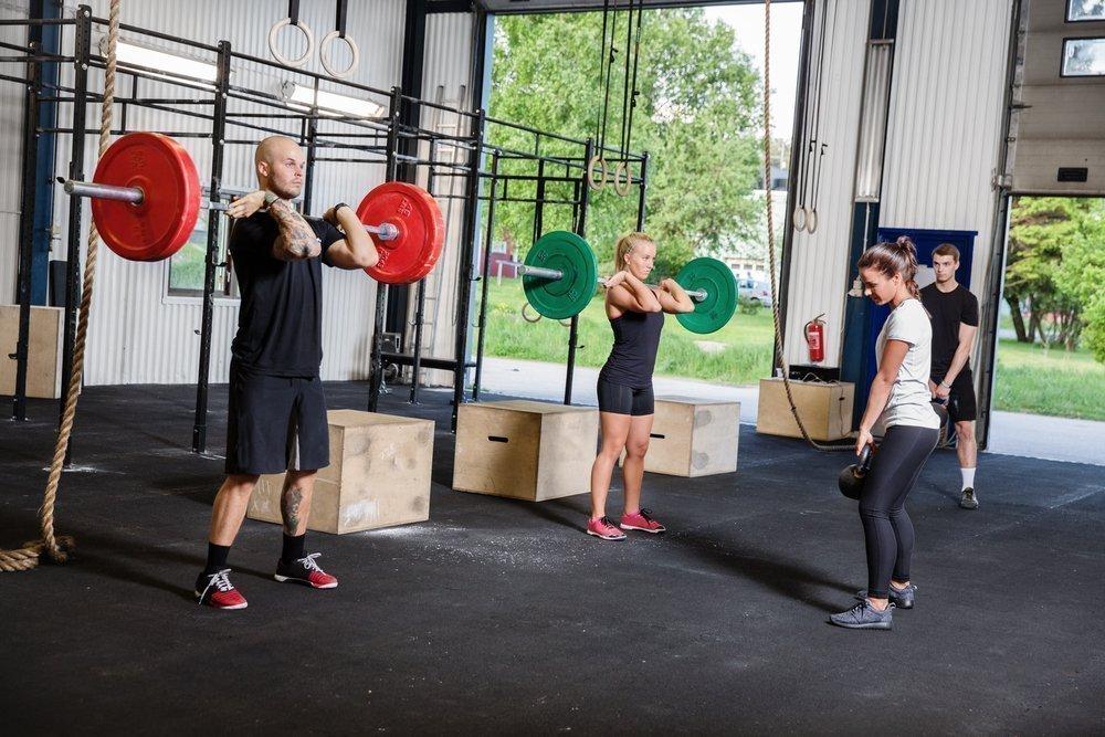 Фитнес-упражнения в программе кроссфита