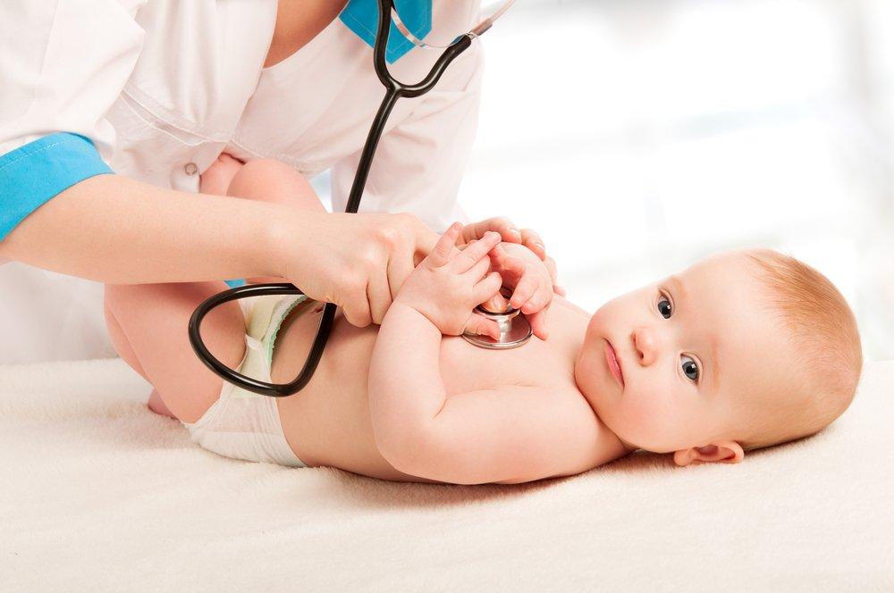 Работа сердца у младенцев
