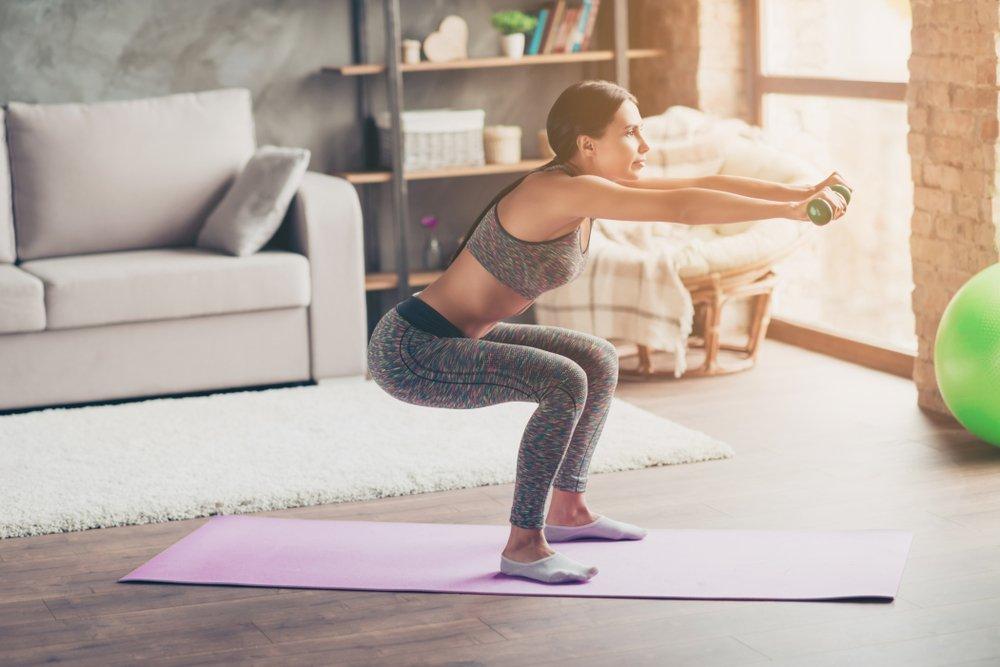 Фитнес похудение для дома