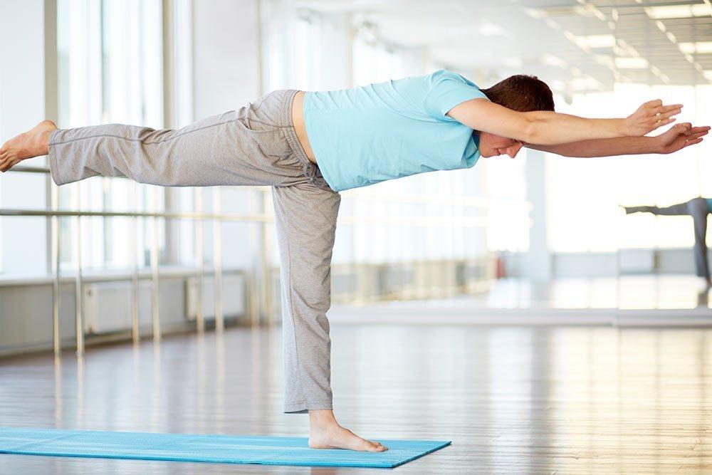 Уроки йоги для здоровья мужчин