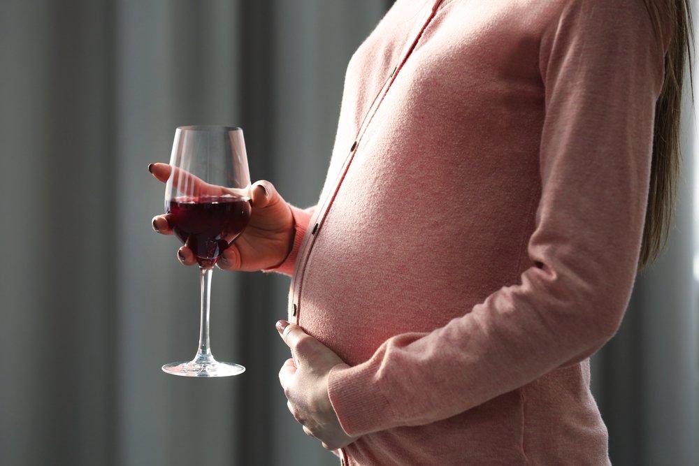 Алкоголизм у беременных женщин