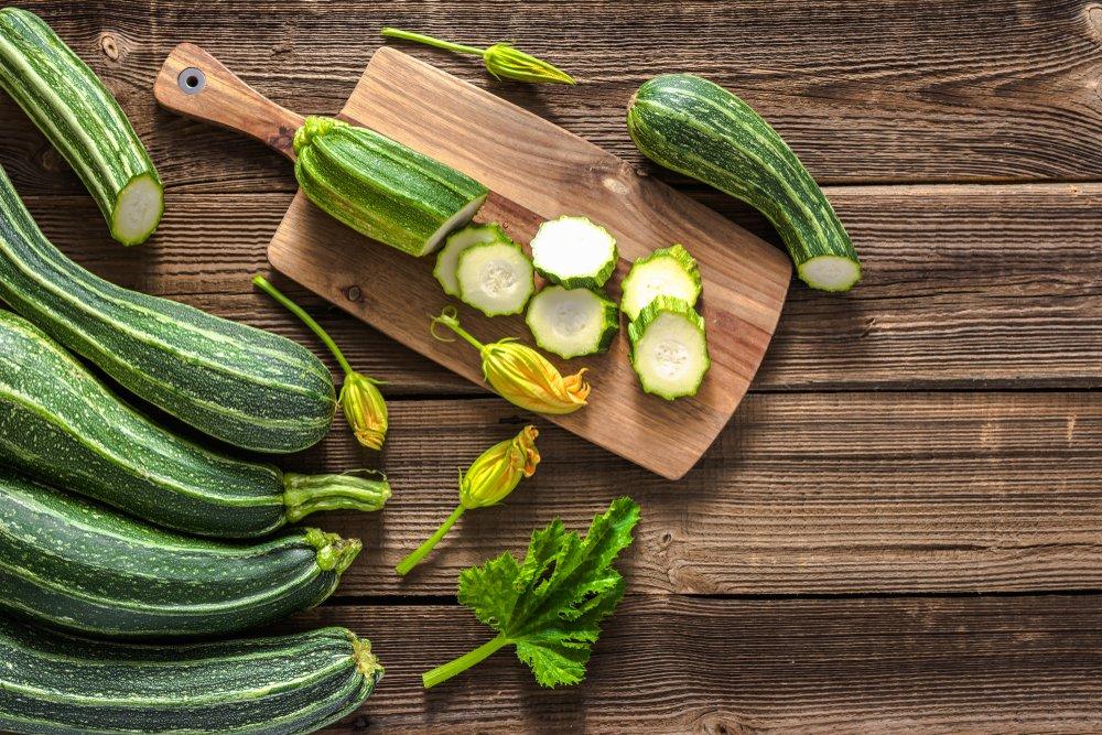 Кабачки в детском питании: витамины и общая польза