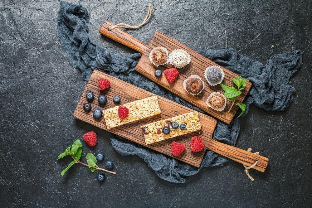 Батончики из свежих фруктов