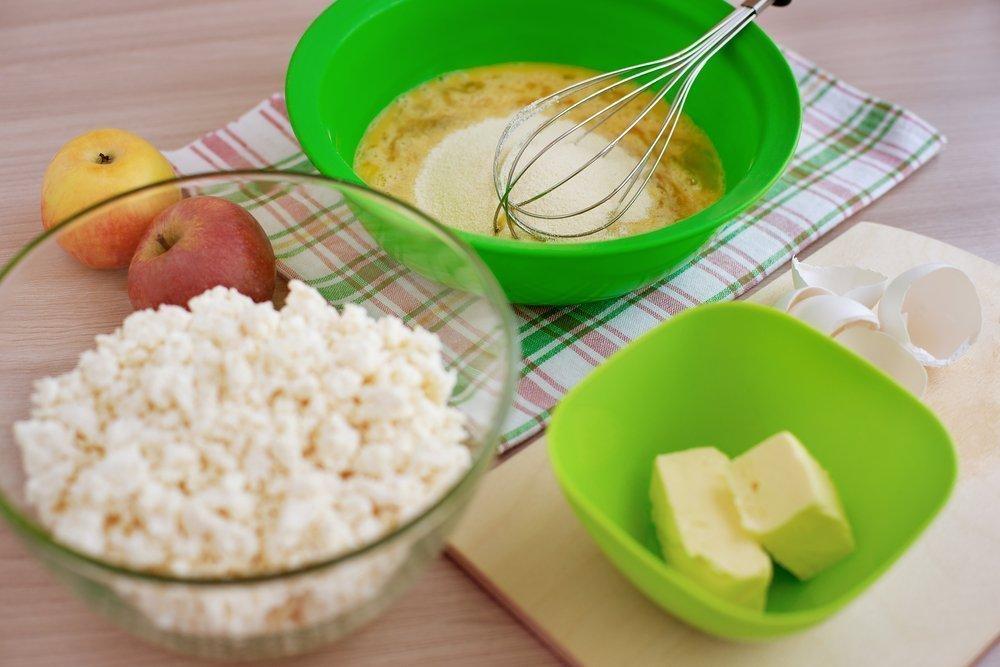 Запеканка из творога для здорового и вкусного питания