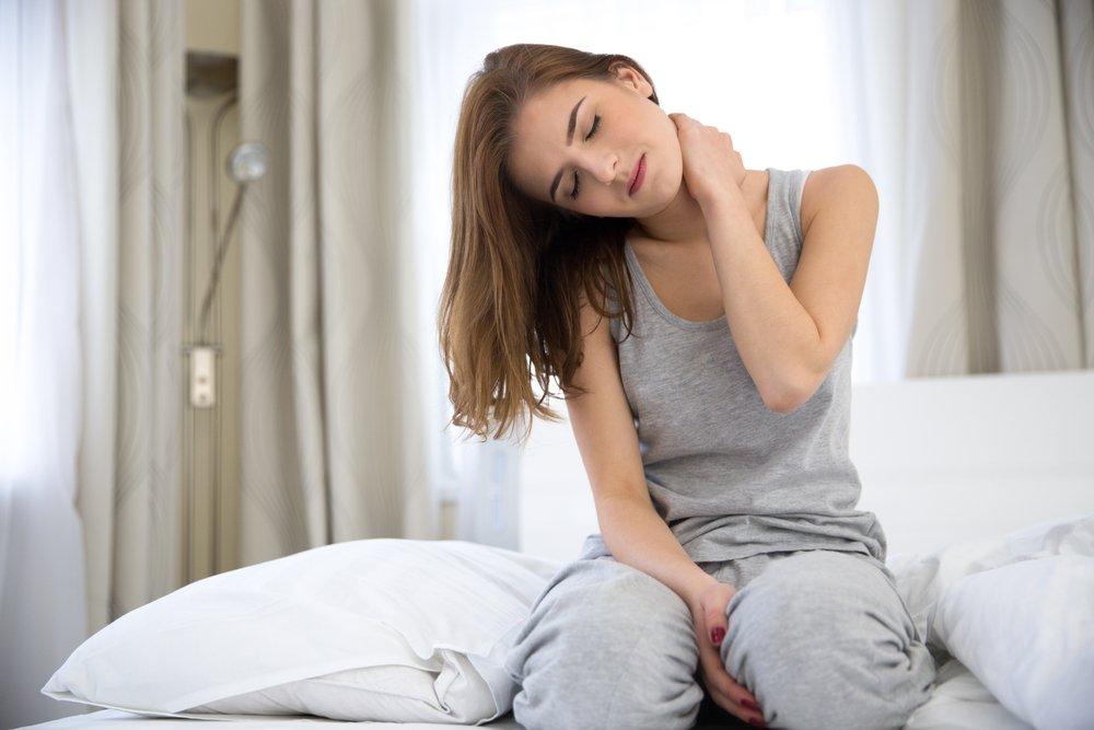 Неудобно спала болит шея что делать