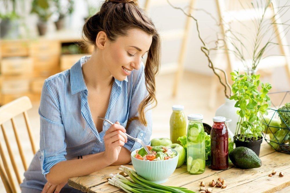 соблюдение здорового питания
