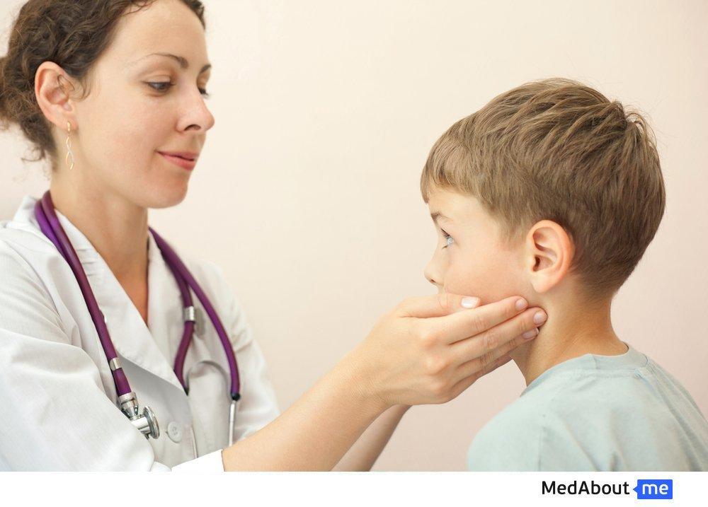 Что делать, если воспалился лимфоузел у ребенка